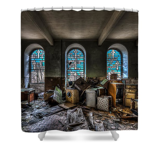 The Church - La Chiesa Shower Curtain