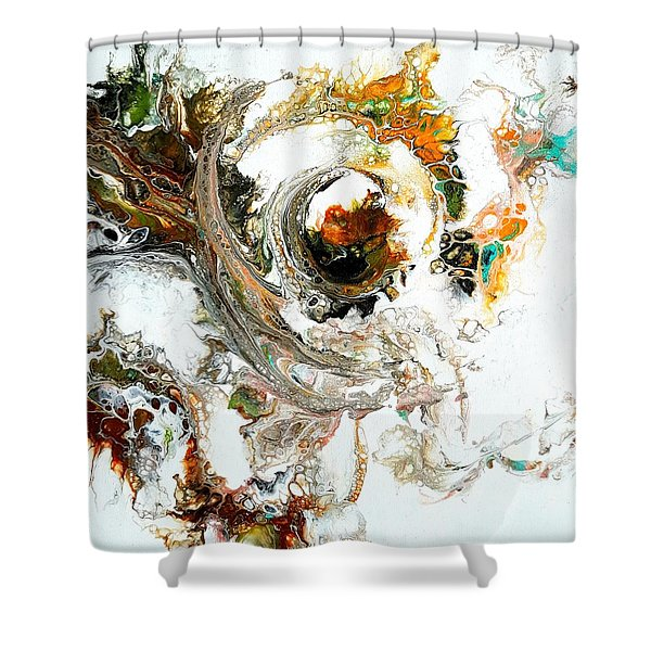 The Circle Of Life Shower Curtain