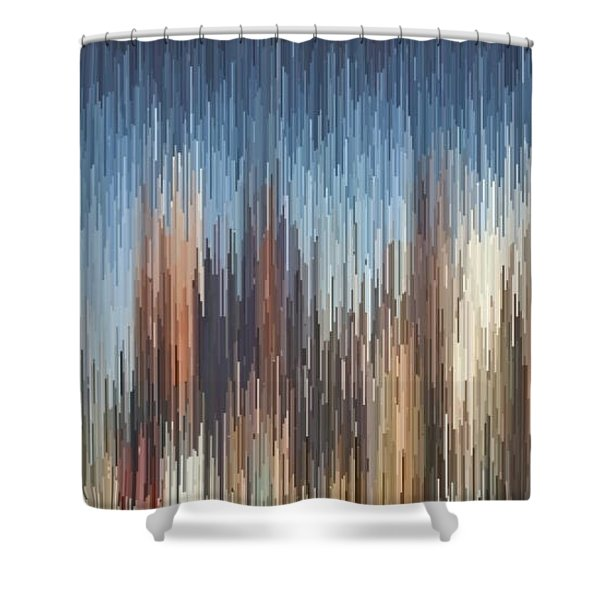 The Cities Shower Curtain