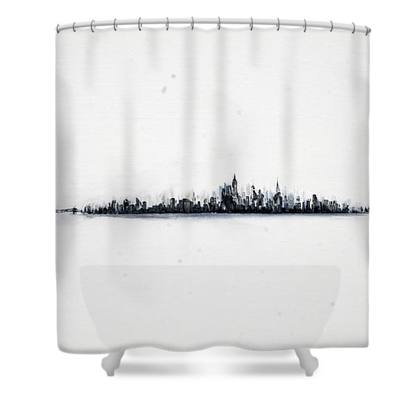 The City New York Shower Curtain