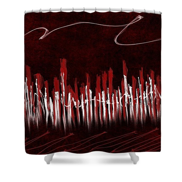 The City Of My Dreams Shower Curtain