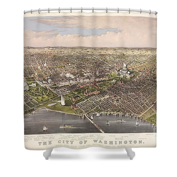 The City Of Washington Shower Curtain