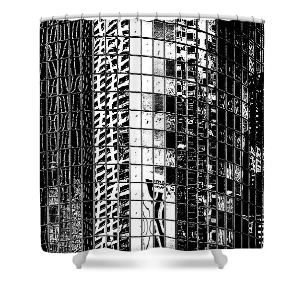 The City Within Shower Curtain
