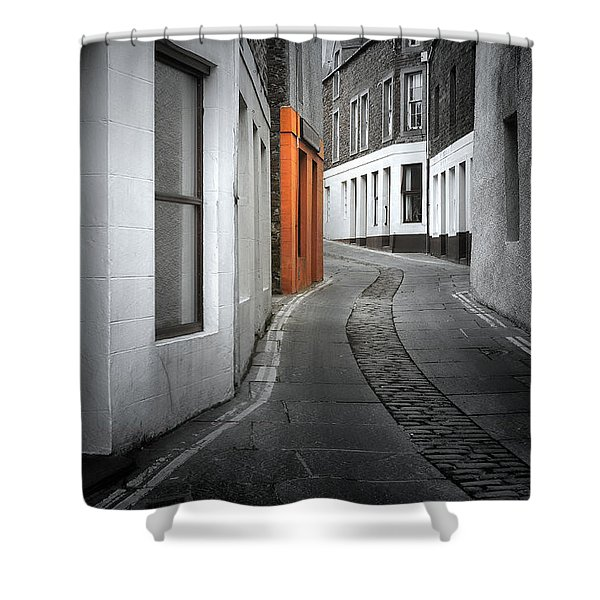 The Clear Target Shower Curtain