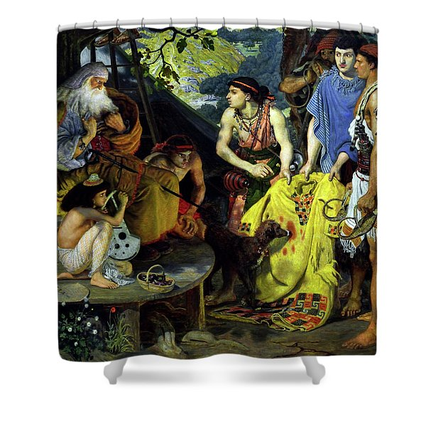 The Coat Of Many Colors Shower Curtain