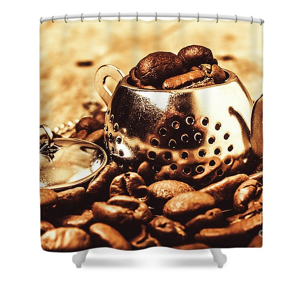 The Coffee Roast Shower Curtain