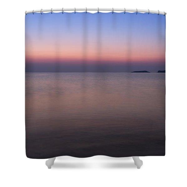 Dawn At The Mediterranean Sea Shower Curtain