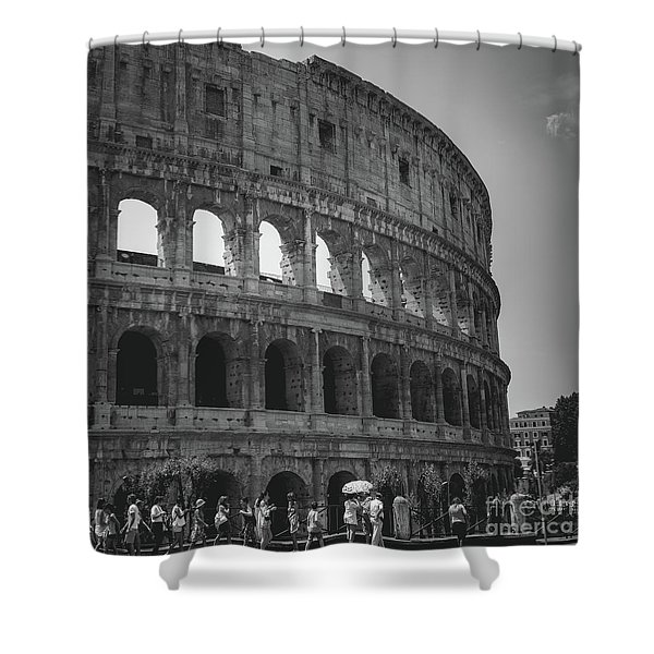 The Colosseum, Rome Italy Shower Curtain