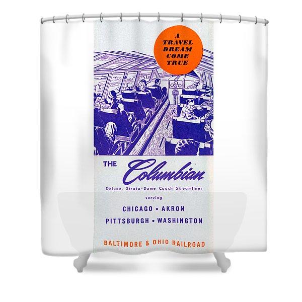 The Columbian Shower Curtain