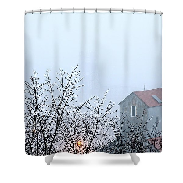 The Commander Shower Curtain