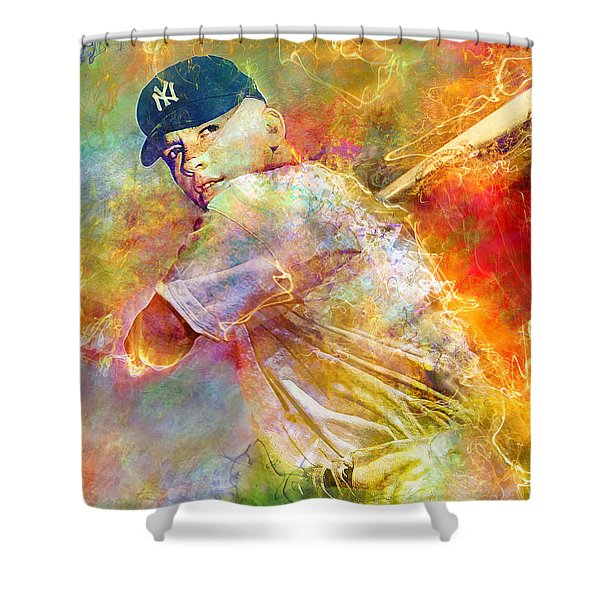 The Commerce Comet Shower Curtain