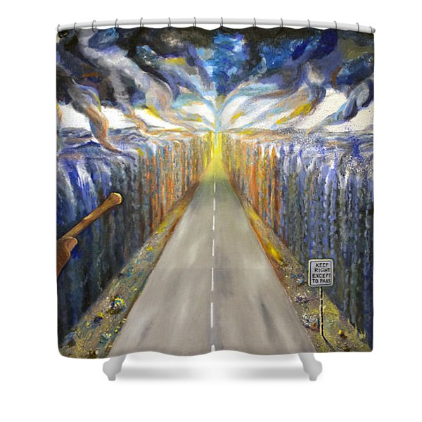 The Conundrum Shower Curtain