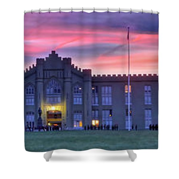 The Corps Forms For Breakfast Shower Curtain