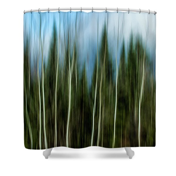The Counsel Of Trees Shower Curtain