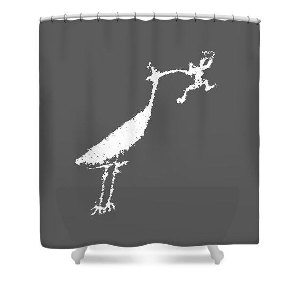 The Crane Shower Curtain