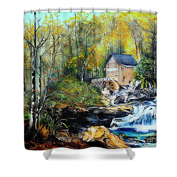 Glade Creek Shower Curtain