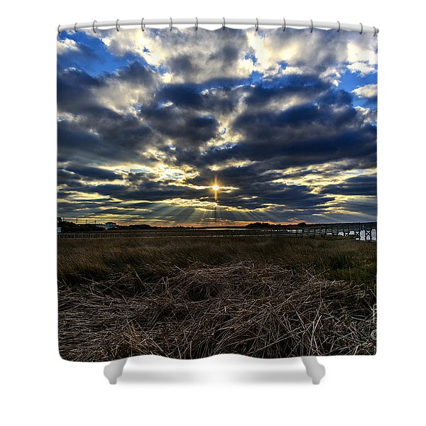 The Cross Shower Curtain