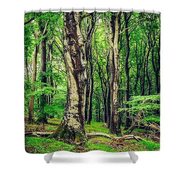 The Crowds Shower Curtain