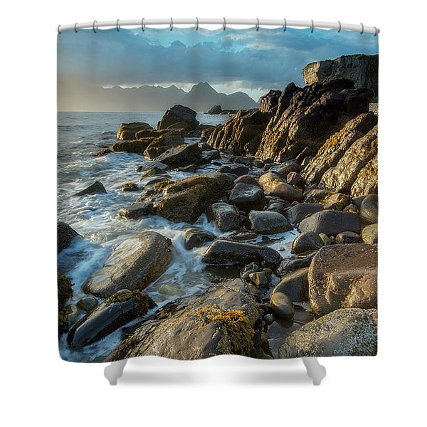 The Cuillin From Elgol Shower Curtain