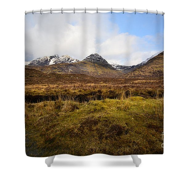 The Cuillins Shower Curtain