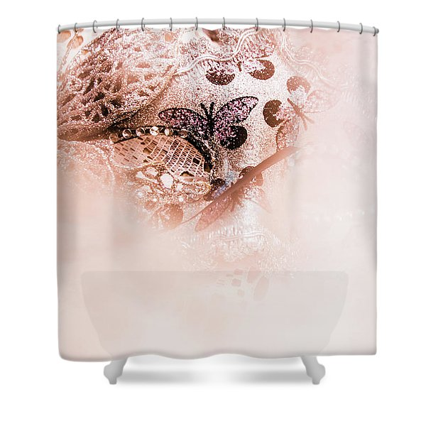 The Curtain Close Shower Curtain