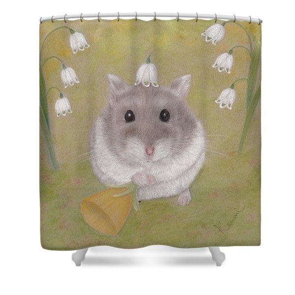 The Cutest Annunciation Shower Curtain