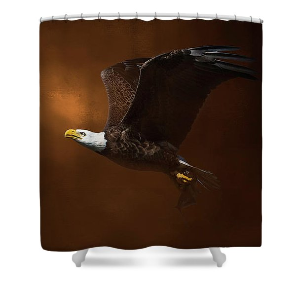 The Daily Catch Shower Curtain