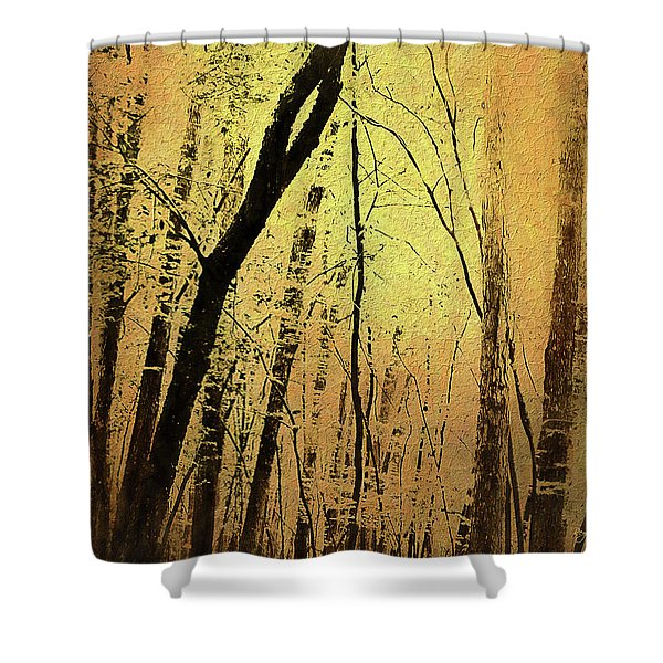 The Dawn Of The Trees Shower Curtain