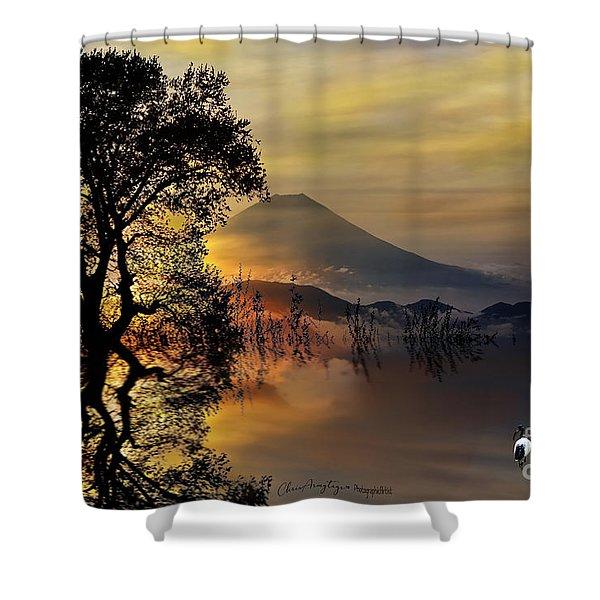 The Days Blank Slate Shower Curtain