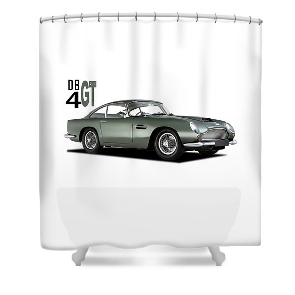 The Db4gt Shower Curtain