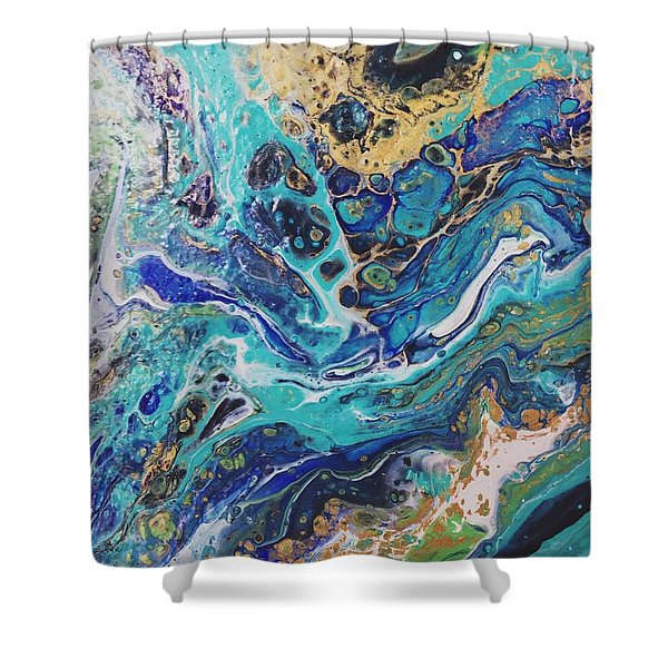 The Deep Blue Sea Shower Curtain