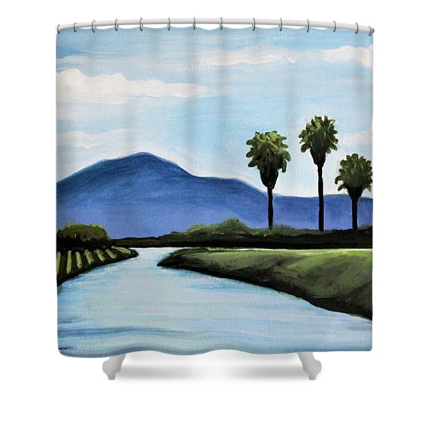 The Delta Shower Curtain