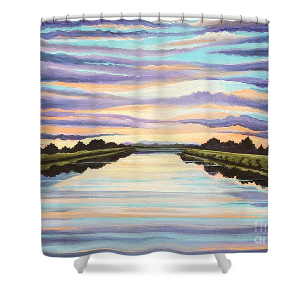 The Delta Experience Shower Curtain