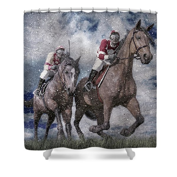 The Derby Shower Curtain