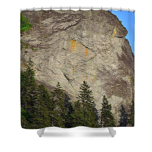 The Devil's Courthous Blue Ridge Shower Curtain