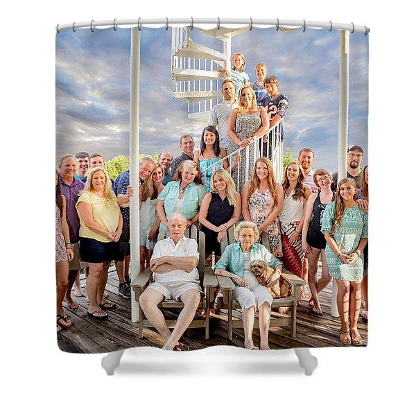 The Dezzutti Family Shower Curtain