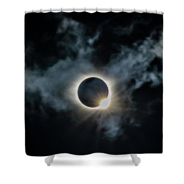 The Diamond Ring 2017 Shower Curtain