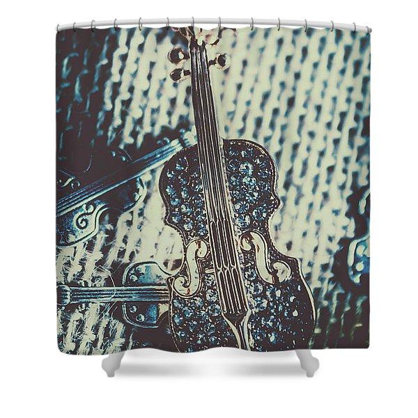 The Diamond Symphony Shower Curtain