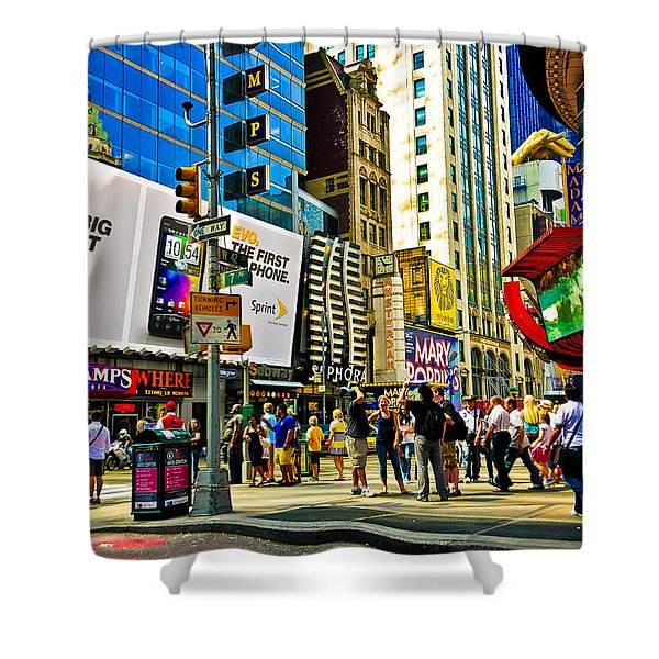The Dirty Old City -nyc Shower Curtain