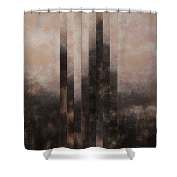 The Distance Shower Curtain