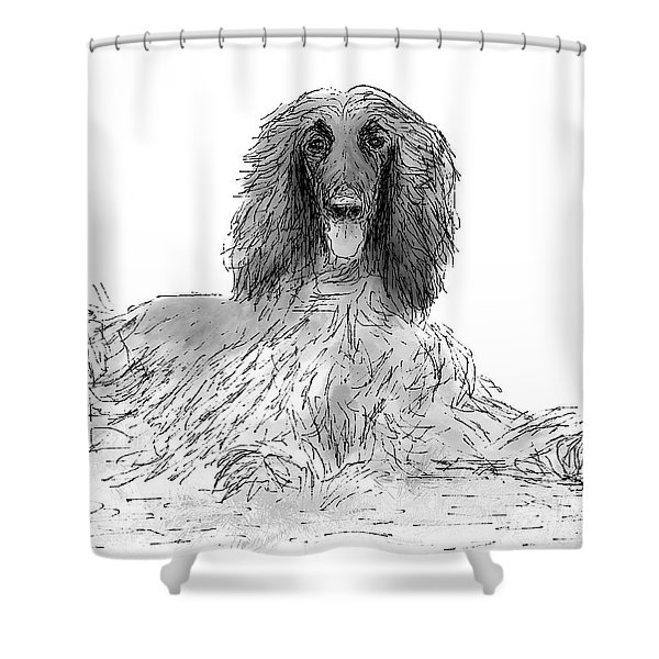 The Diva Shower Curtain