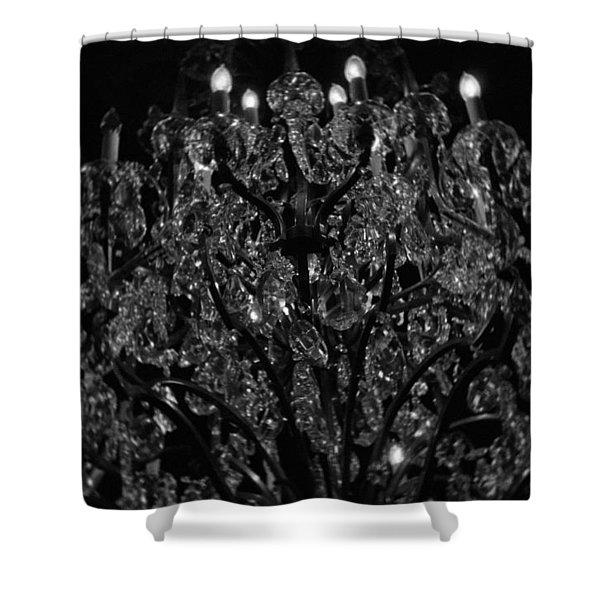 The Drake Chandelier Shower Curtain