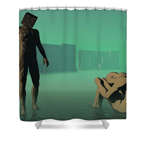 The Dream Of Shame Shower Curtain