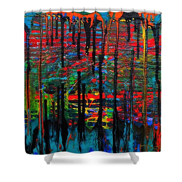 The Drip Shower Curtain