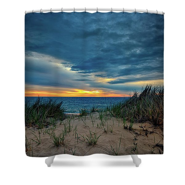 The Dunes On Cape Cod Shower Curtain