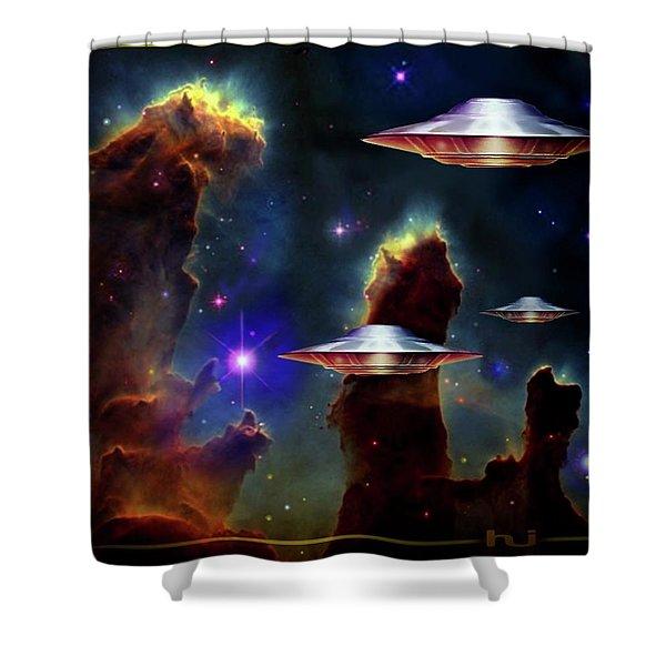 The  Eagle  Nebula  Shower Curtain