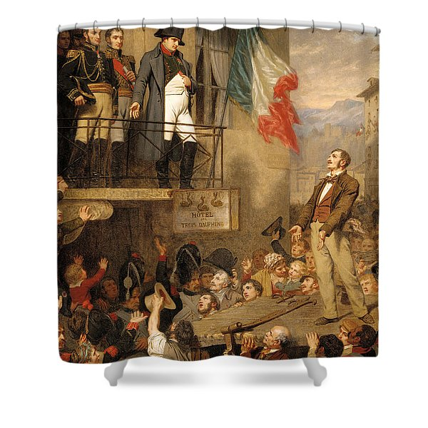 The Eagle's Flight Shower Curtain