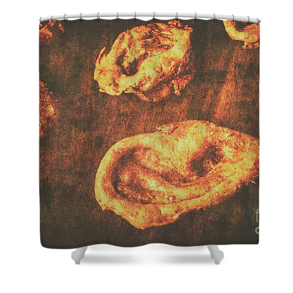 The Ear Collector Shower Curtain