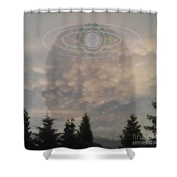The Earth Belongs To Our Children Shower Curtain