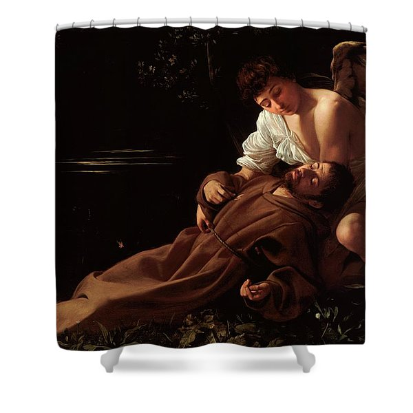 The Ecstacy Of Saint Francis Of Assisi Shower Curtain